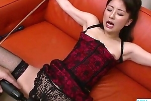 Jaw-dropping porn along tawdry Ayumi Iwasa