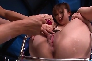Staggering toy porn scenes with Mami Yuuki