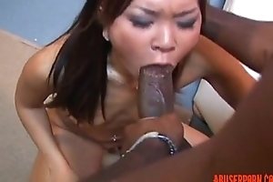 Cute Asian gets Plowed away from Mandingo, Unconforming Porn: xHamster filial - abuserporn.com