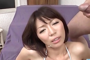 Izumi Manaka needy mother can't live without cum on face
